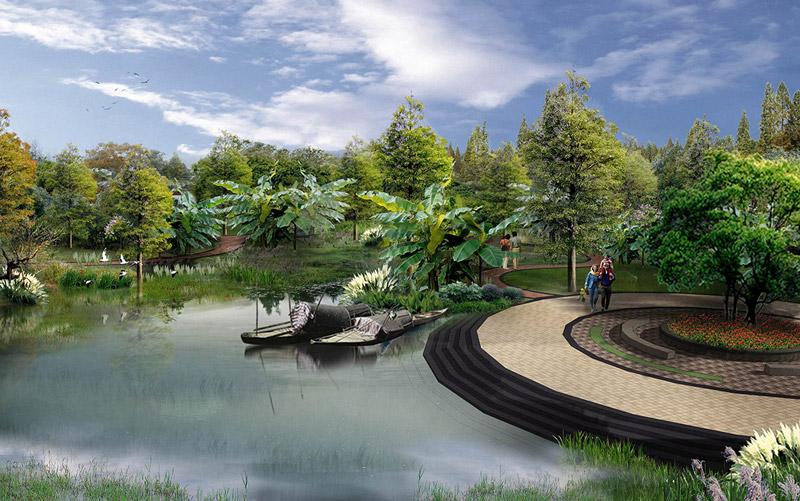 20世纪景观设 花境设计_景观设计策略_景观夜景设计