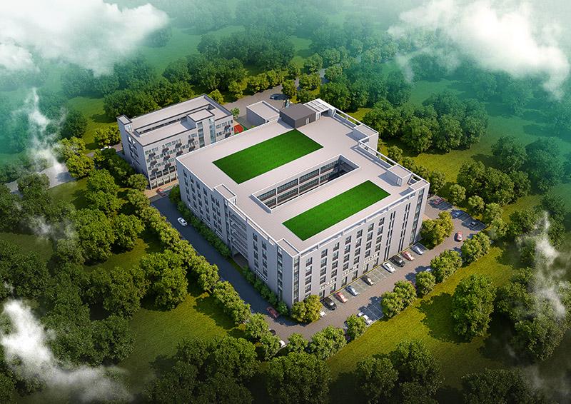 创可激光厂区规划设计
