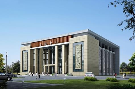 广东省德庆县某文化中心规划设计方案
