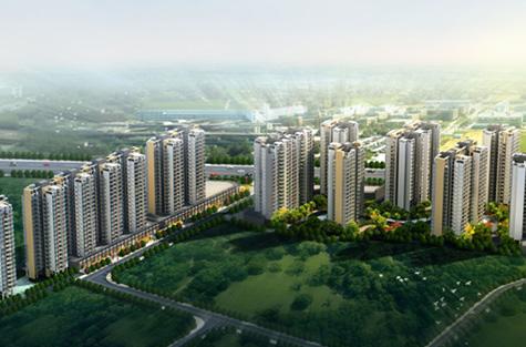 柳州颐华城景观设计