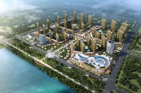 河南嵩县城市综合体城市规划