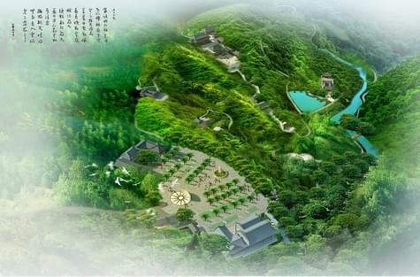 德庆大广山六祖文化景区修建性详细规划