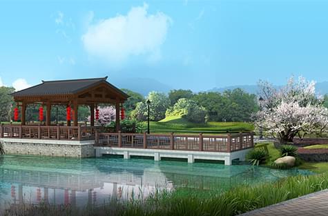 东莞市高涉镇某村美丽幸福村居设计方案