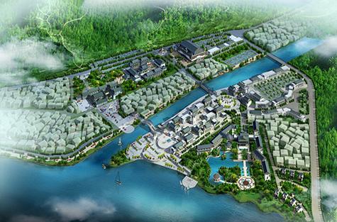 广东省德庆县悦城某风景旅游区修建性详细规划设计