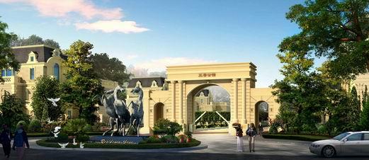 湖北赤壁三号公馆及酒店整体规划设计方案