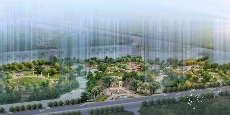 清远某小区景观方案设计方案