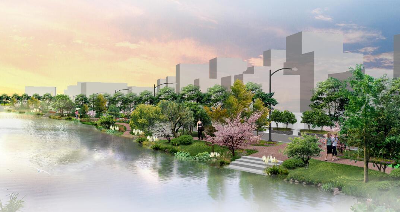 东莞市洪梅镇某村美丽幸福村居规划设计方案