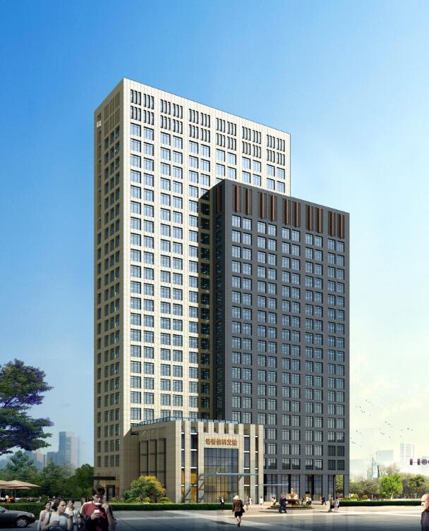 广东省深圳市某高科技企业研发楼建筑设计方案