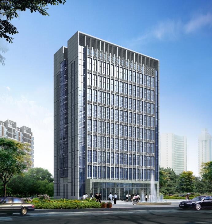 广西南宁市某投资发展有限公司办公楼设计方案