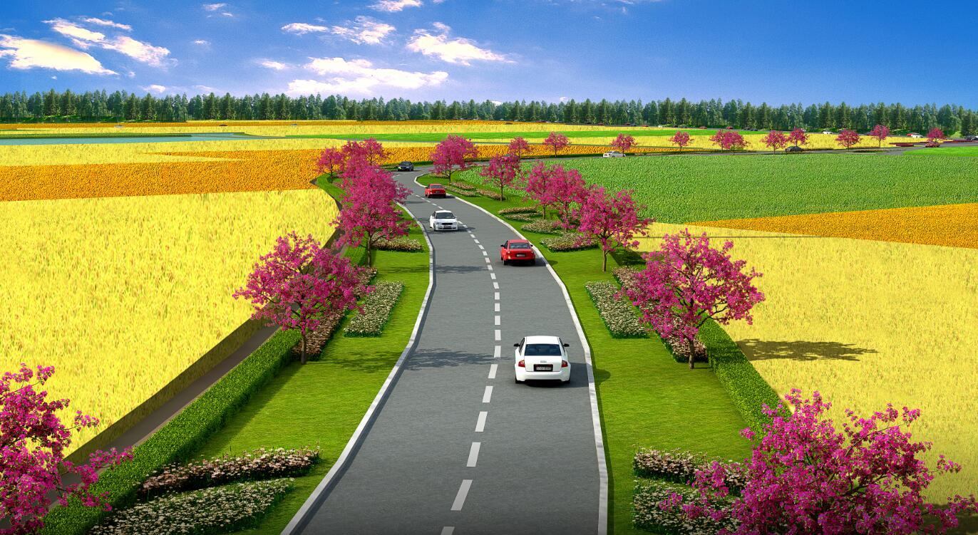 高速公路入口园林景观规划设计方案