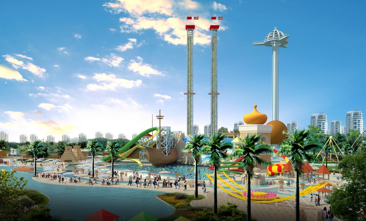 滨河公园游乐广场建筑规划设计方案