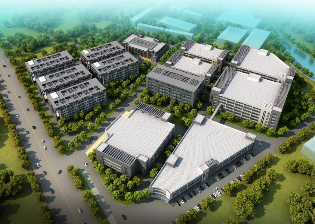 东莞某现代化工厂建筑设计方案