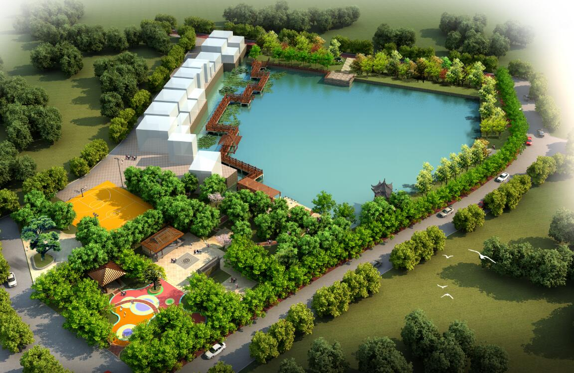 东莞桥头社区园林景观设计方案