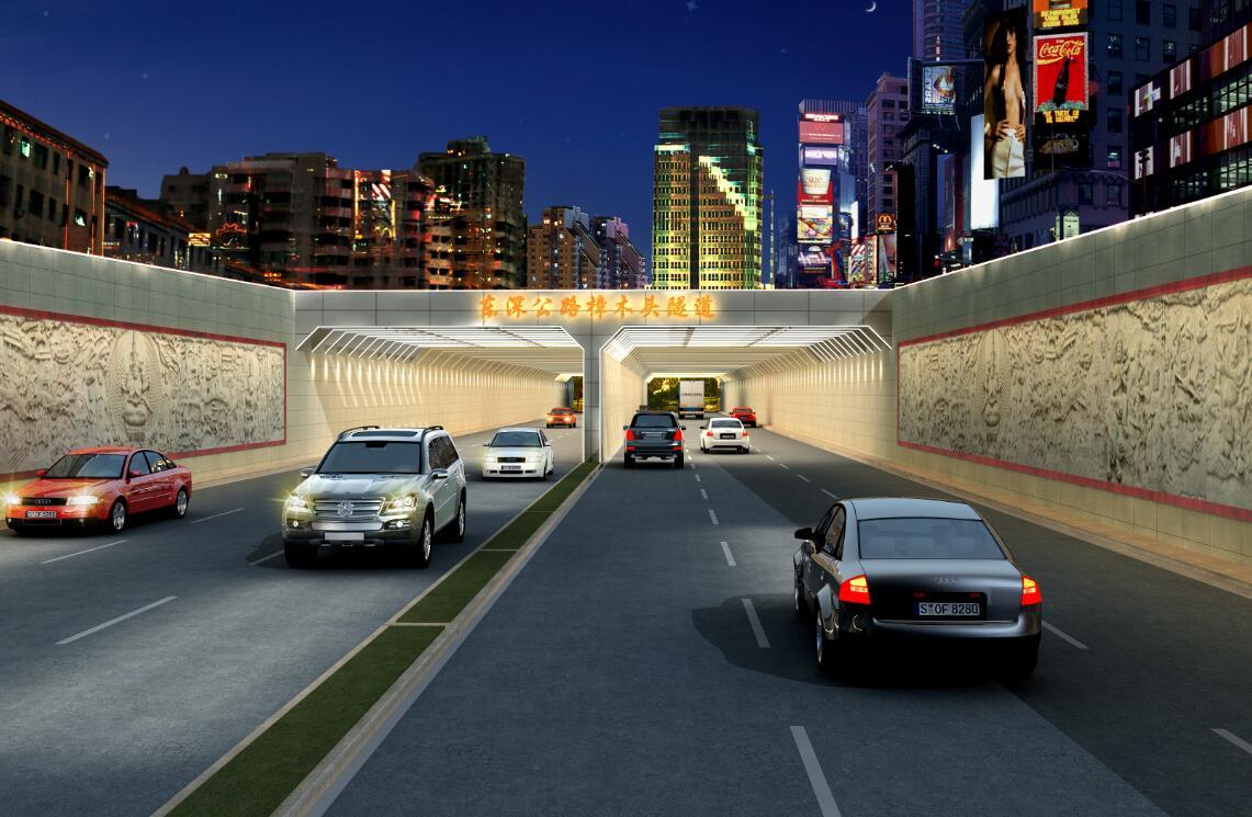东深公路樟木头隧道景观