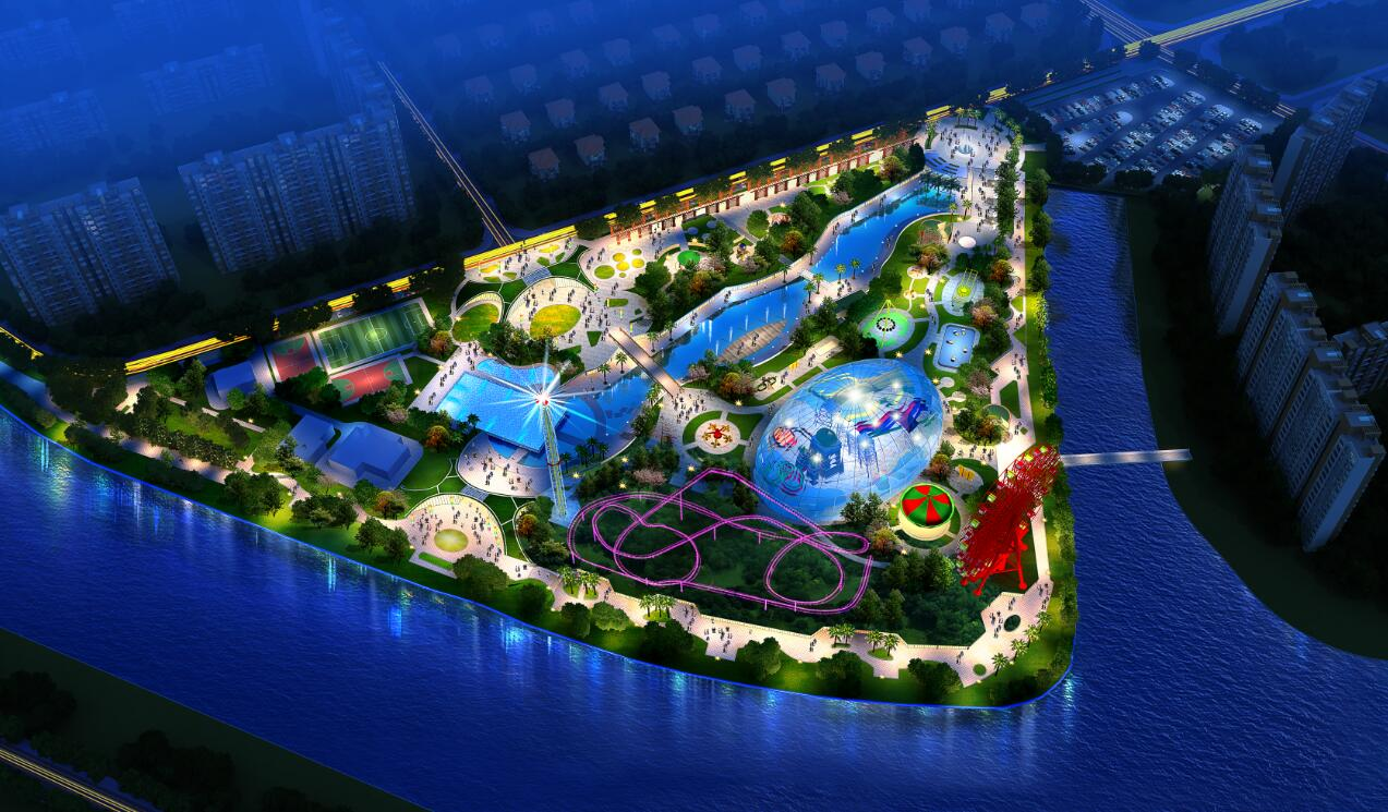 滨河公园景观设计