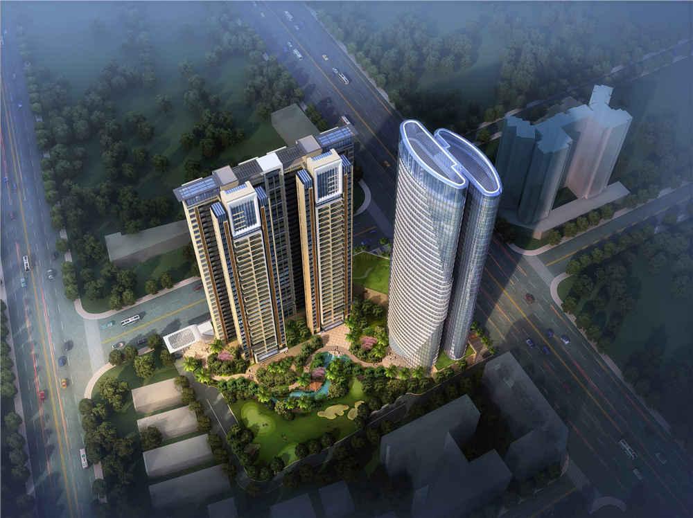 江南美誉二期公寓·住宅规划设计