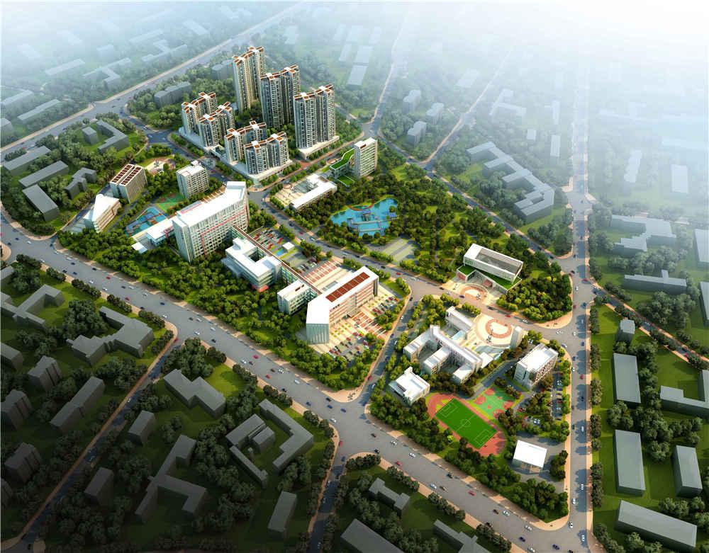 东莞凤华园商住区规划设计