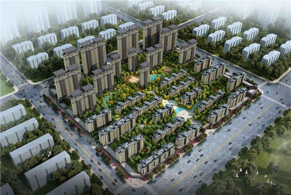 恒联花园住宅小区规划设计
