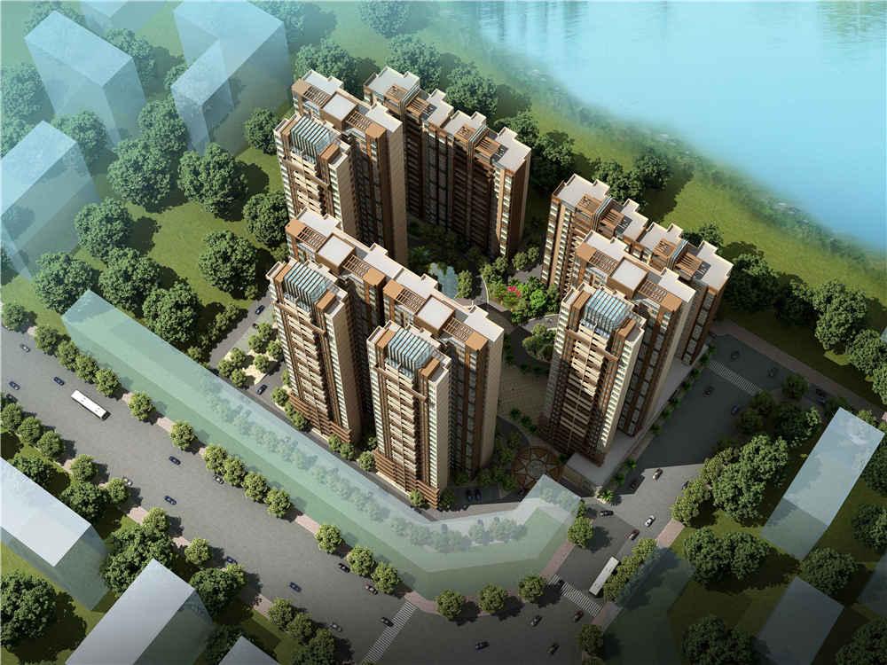 碧云天住宅小区规划设计