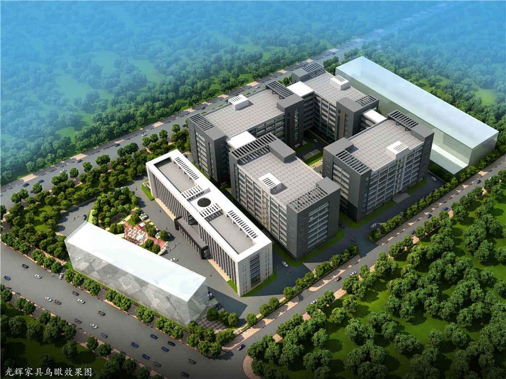 光辉家具厂区规划设计