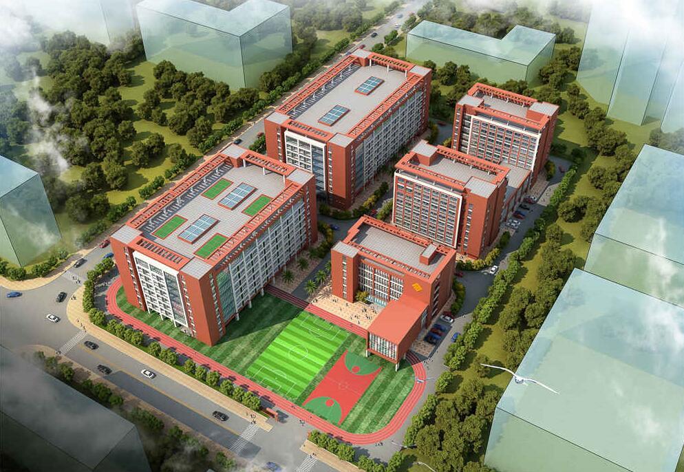 长方集团外国语高级中学规划设计