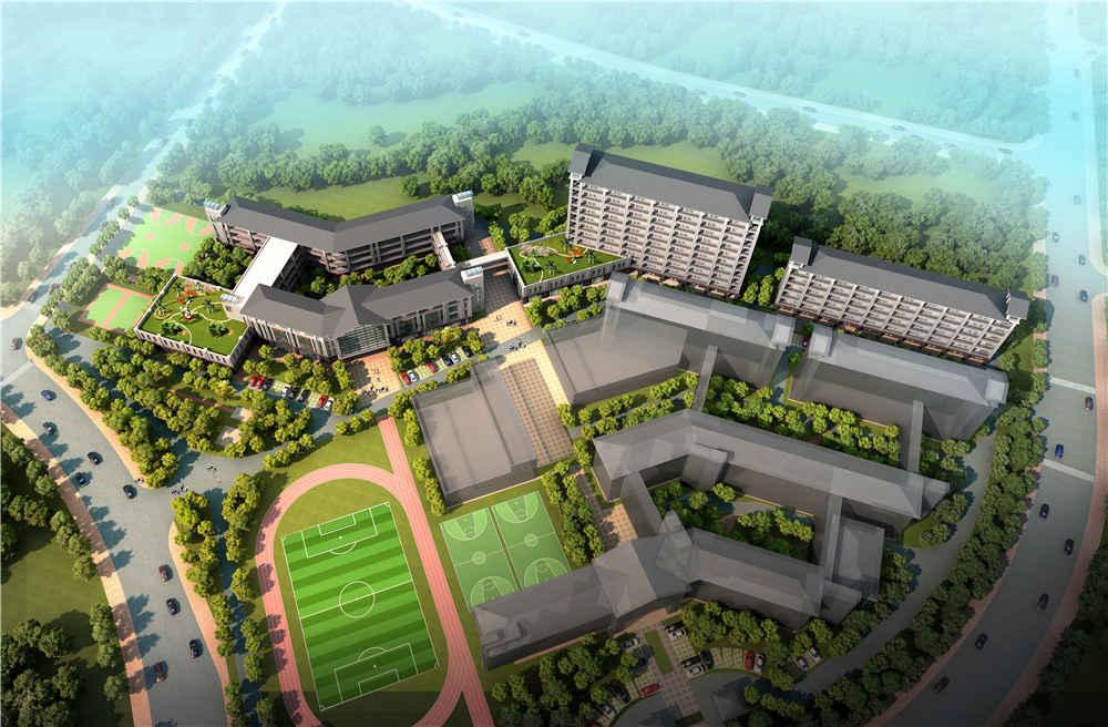 东莞松山湖实验小学规划设计