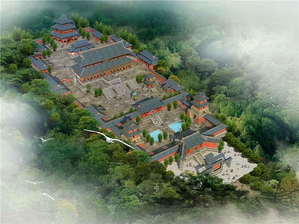 天音寺古建规划设计