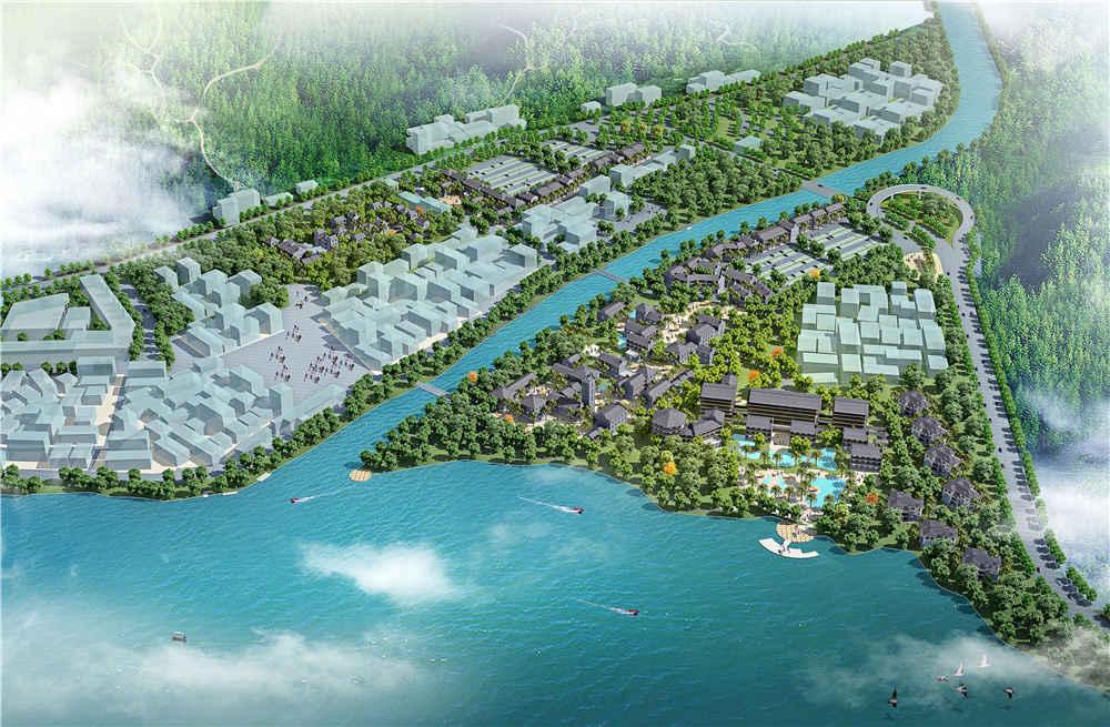 悦城龙母旅游区规划设计