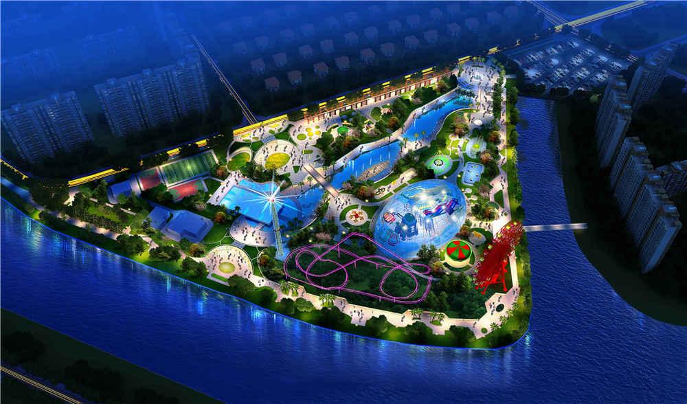 樟木头滨江水上世界主题公园规划设计