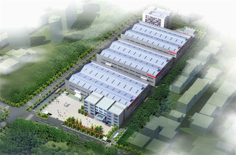 东莞津工合金材料工业厂区厂房设计
