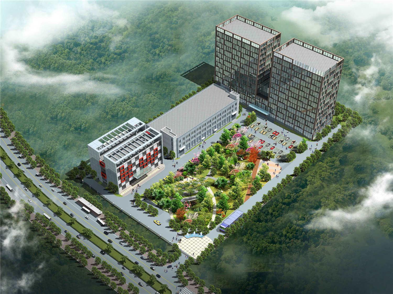 科旺科技公司总部厂房设计
