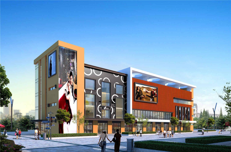 广州沙河服装城改造设计