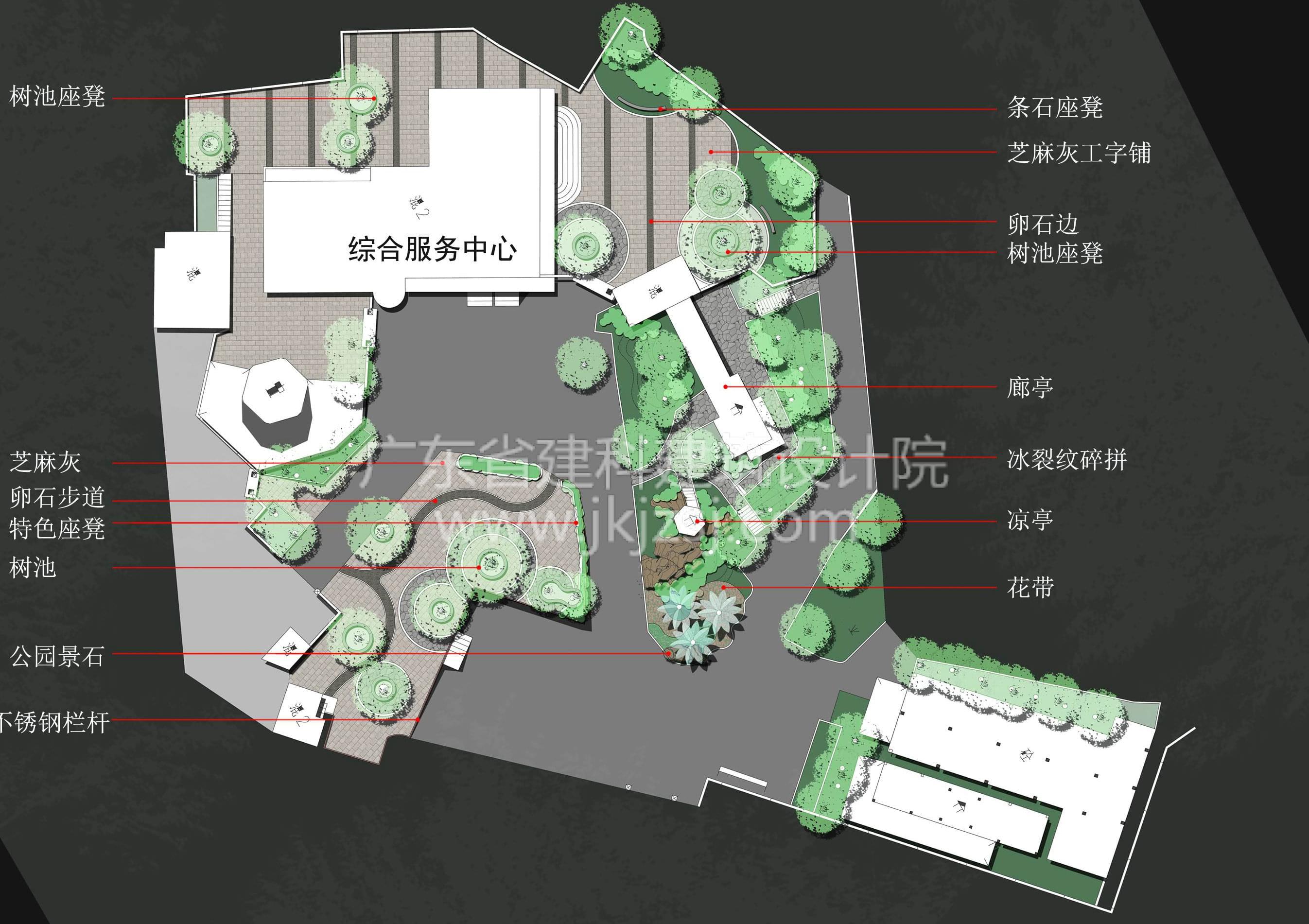 茶山公园景观设计