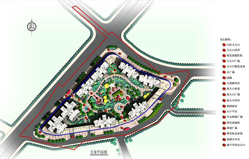清远翠湖花园景观设计及扩初方案