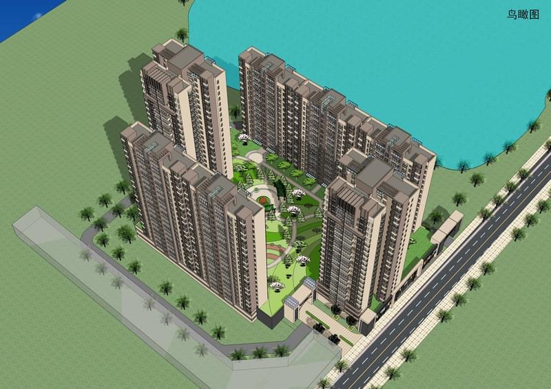 碧云天豪庭小区设计