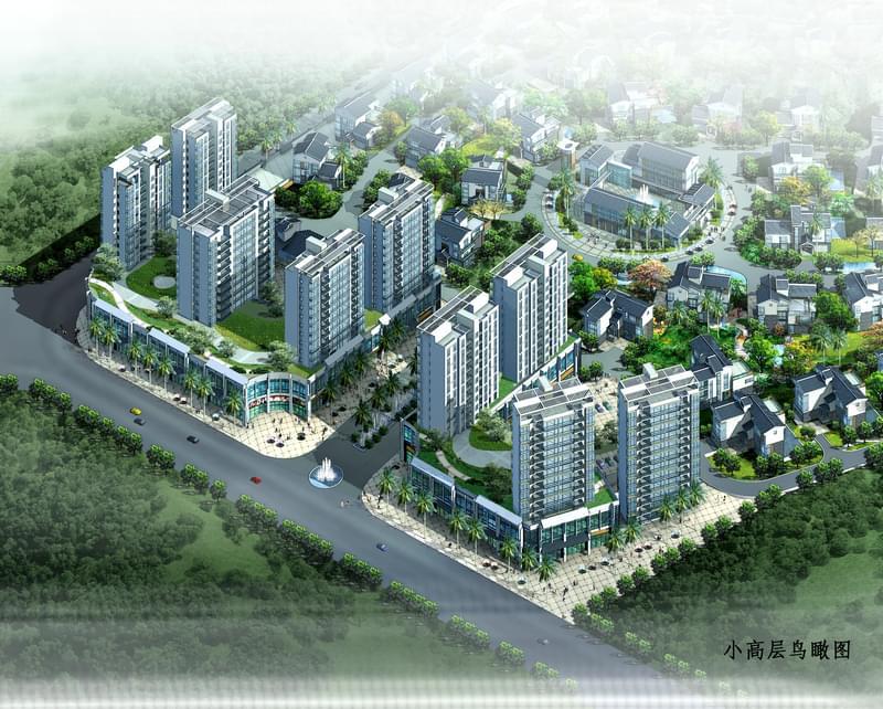 潮州市韩晖山庄规划设计