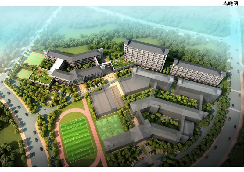 松山湖实验小学整体规划设计方案
