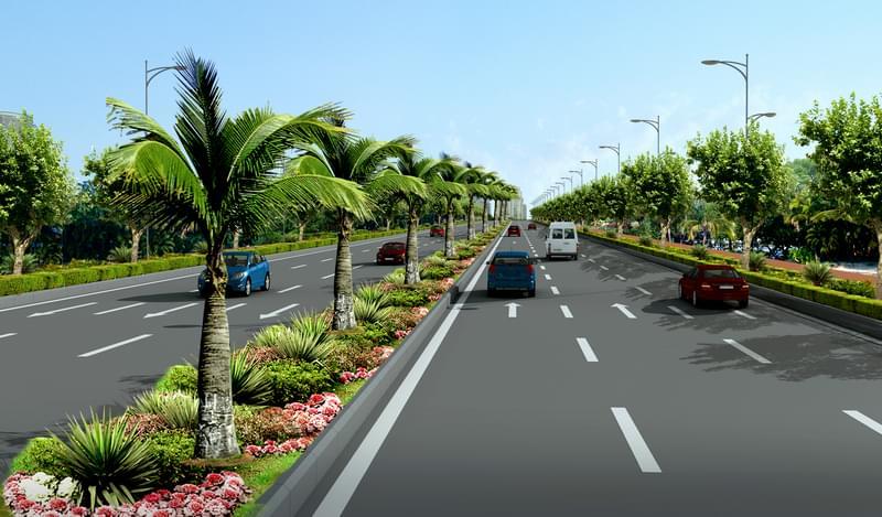 佛山某地道路规划设计
