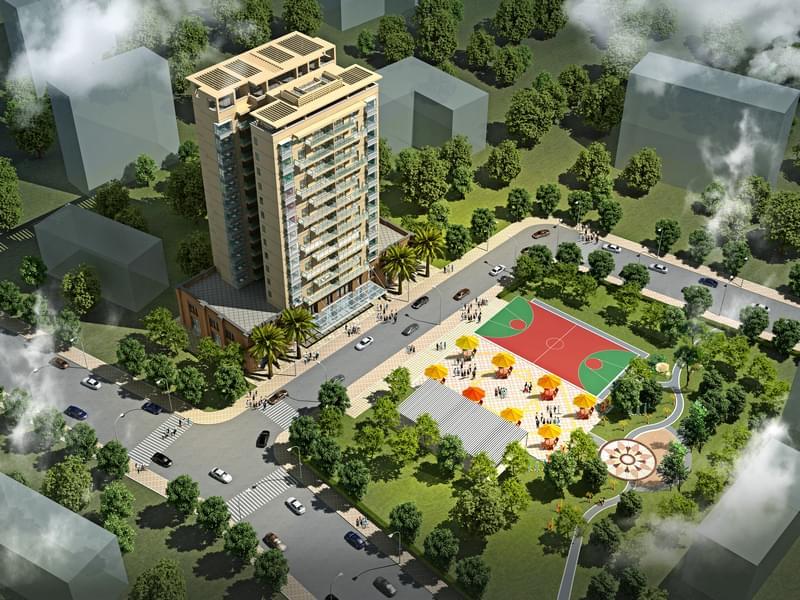 石排镇农民公寓规划设计