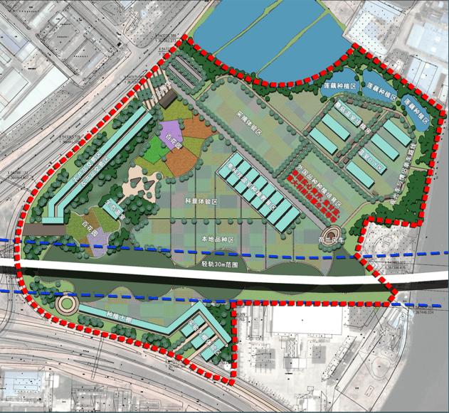 道滘镇蔡白坭克、龙洲湾都市农业园规划设计方案