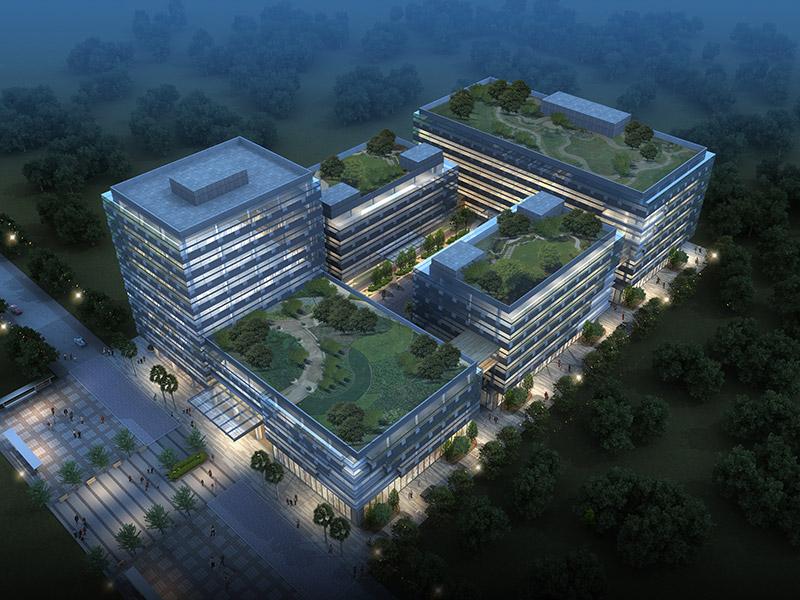 昇辉电子总部大楼建筑设计