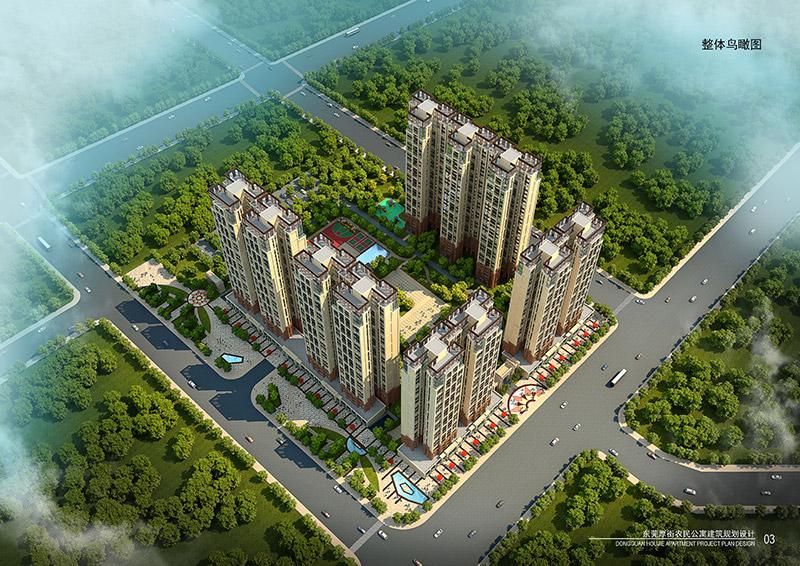 厚街农民公寓规划设计