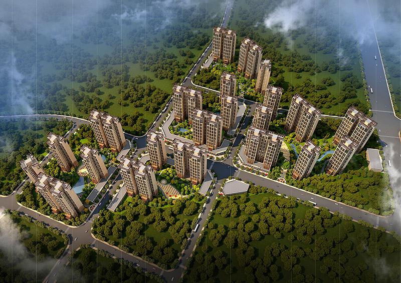 惠州伯恩住宅小区规划设计