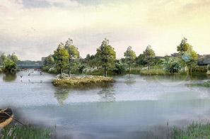 洪梅镇梅沙村湿地公园规划设计