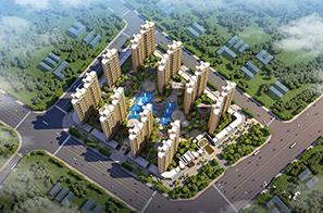 钦州恒太住宅小区规划设计