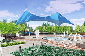 德庆县市政中心广场景观设计