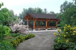 桥头镇田新社区美丽幸福村居景观改造设计
