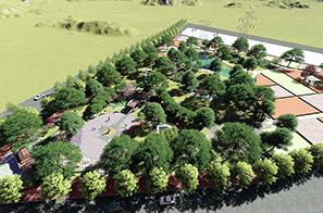 横沥镇田饶步村美丽幸福村居规划设计