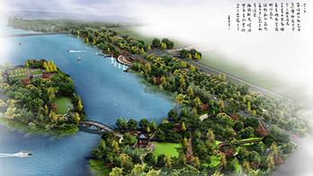 河南洛阳嵩县陆浑湖国家湿地公园设计方案