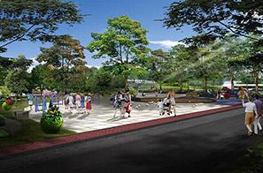 静福广场景观设计